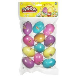 12 Play-doh Easter Eggs - Includes 1 Golden Easter Egg