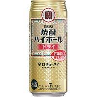 宝 焼酎ハイボール <ドライ> 下町缶 500ml × 24缶