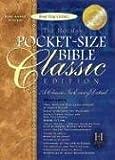 echange, troc  - Holy Bible: Holman King James Version, Black Bonded Leather, Pocket-Size