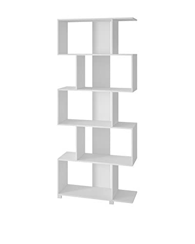 Manhattan Comfort Petrolina Z-Shelf, White