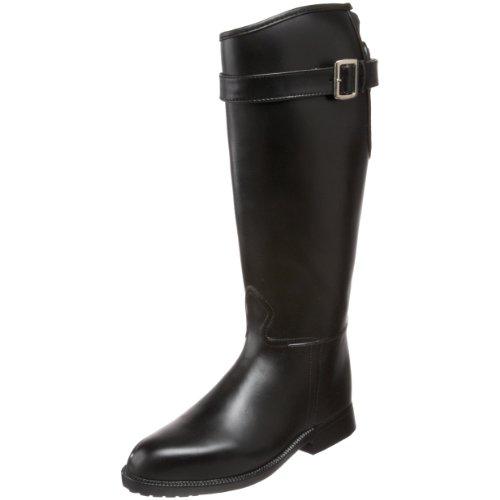 DAV Rainboots Women's Equestrian Stretch Black Riding Boots EQ-ST900-40 7 UK, 40 EU, 10 US