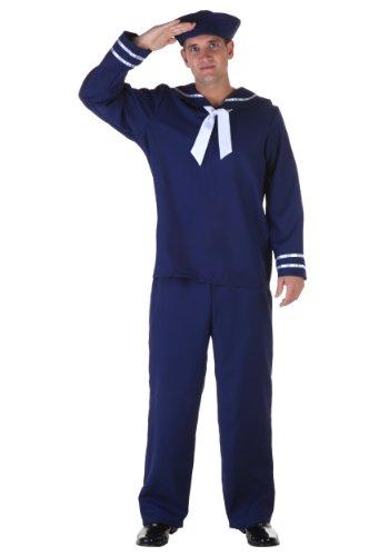 Plus Size Blue Sailor Costume 2X (Sailor Plus Size Costume)