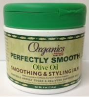 Organics By Africas Best Perfectly Smooth Olive Oil Smoothing & Styling Jam 4 Oz.