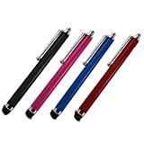 4 Pack - High Quality HQ, HIGH CAPACITIVE STYLUS TOUCH PENS FOR iPhone 3G 3GS iPhone 4/4S /4G & iPhone 5 iPad 2/3/4 + Samsung Tablet 7inch,10inch & Samsung S5620 Monte, Galaxy S4 i9500,S3 i9300,S2 i9100,Galaxy,i9000,Galaxy Ace S5830,Ace 2 I8160,Wave,Gala