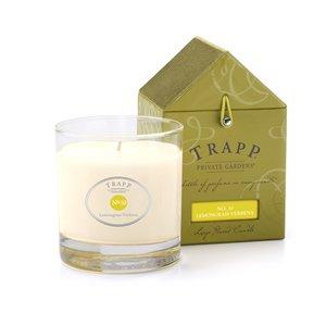 Trapp 7 Oz Poured Candle No. No. 10 Lemongrass Verbena