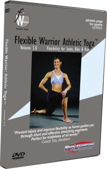Flexible Warrior 3.0: Flexibility for Swim Bike & Run DVD