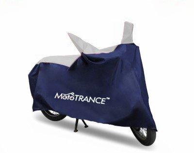 Mototrance MT800338 Sporty Blue Universal Bike Body Cover(Sporty Blue)