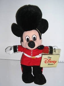 Disneys Palace Guard Mickey Mouse Bean Bag