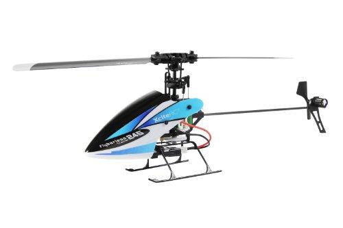 13003000 RC Hubschrauber Flybarless 245 Trainer Single Blade - 4 Kanal ARTF blau weiß