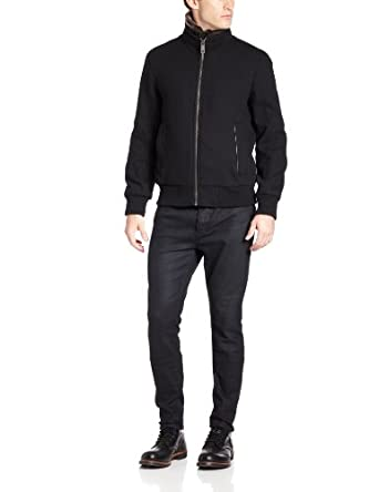 Marc New York by Andrew Marc Men's Troy Jacket, Black, XX-Large