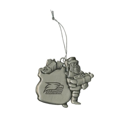 Georgia Southern Pewter Santa Ornament 'Georgia Southern w/ Eagle Head Engraved' at Amazon.com