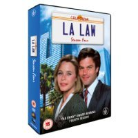 LA LAW - Season 4 [DVD Box-Set 1989-1990]