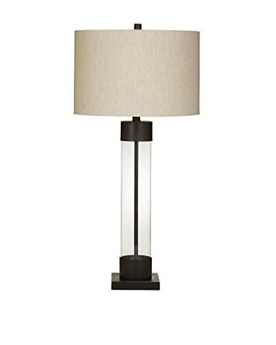 Bassett Mirror Co. Haines 1-Light Table Lamp, Bronze