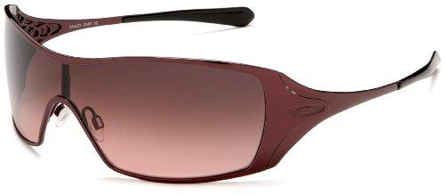 Oakley Women's Dart Iridium Sunglasses,Berry Frame/G40 Black Lens,one size