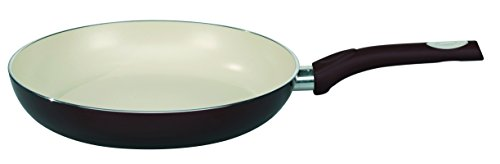 ELO Pure Aubergine Kitchen Induction Cookware Frying Pan with Thermoceramica Non-Stick Scratch Resistant Coating, 9.5-inch (Scratch Resistant Frying Pan compare prices)