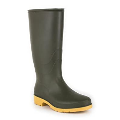 Zone - Classic Green Welly - Kids size 11 - adult size 6 - Size 1 - Green