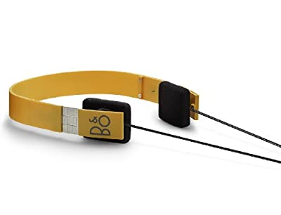 Form 2 Headphones -Yellow by Bang & Olufsen