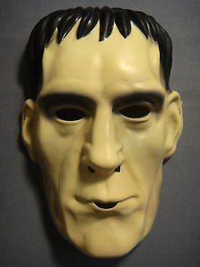 [THE ADDAMS FAMILY LURCH / FRANKENSTEIN HALLOWEEN MASK PVC NEW] (Lurch Costumes)