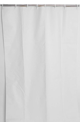 Csi Bathware Cur62x74nh 62 Inch X 74 Inch Heavy Duty Commercial Shower Curtain White Business