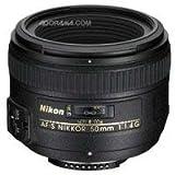 Nikon 50mm f/1.4G SIC SW Prime Nikkor Lens for Nikon Digital SLR Cameras