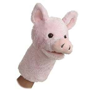Aurora World Plush Pig Puppet
