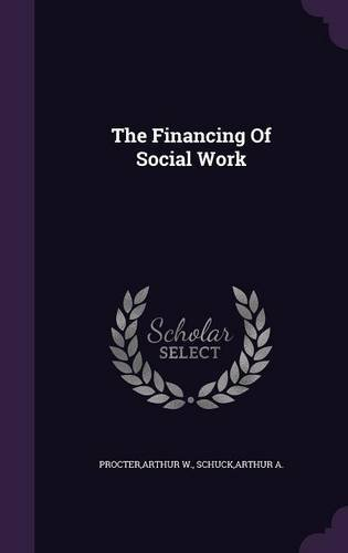 The Financing Of Social Work