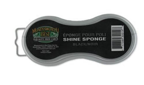 Moneysworth and Best Instant Shine Sponge (Black)