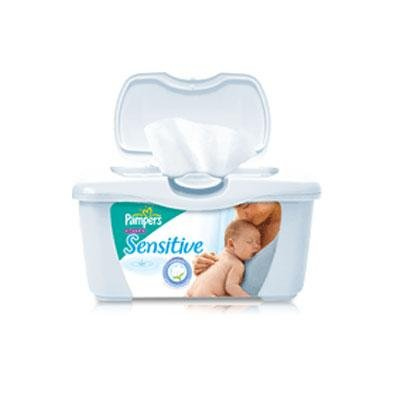 1024 ct. Pampers Sensitive Baby Wipes