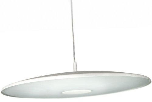 Philips 40235/31/16 EcoMoods Metal  &  Glass Pendant - White