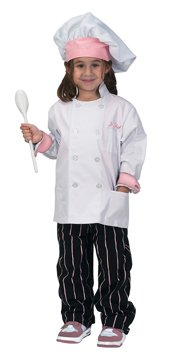 Junior Executive Chef Suit: Toddler Size XS (2T-3T)