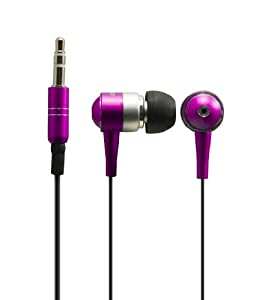 Sentry HO483 Metalix In-Earbuds with Case, Pink