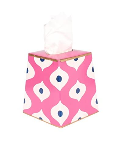 Jayes Sloane Tissue Box Cover, Pink