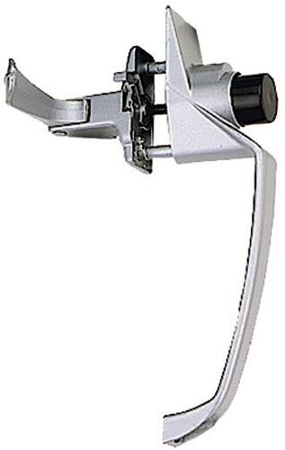 """Stanley Hardware Cd1780 1-1/2"""" H.S. Pushbutton Latch In Black Coated front-857653"""