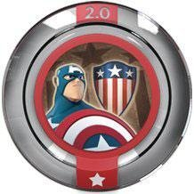 Disney INFINITY: Marvel Super Heroes (2.0 Edition) Power Disc - Sentinel of Liberty
