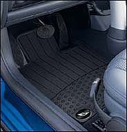 MINI Cooper Genuine Factory OEM 82550146457 Front All Season Floor Mats 2002 - 2006 (set of 2 front mats) (Mini Cooper 2003 Accessories compare prices)