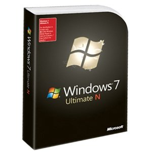 Microsoft Windows 7 Ultimate N - Ensemble Complet - Dvd - 32/64-Bit - Anglais