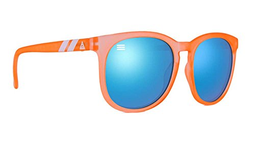 b060880859 Blenders Eyewear Sunglasses Creamsicle H Series Frosted Tangerine Blue