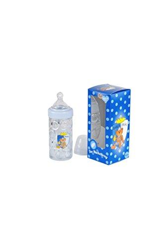 Bierkrug-Babyflasche-Nuckelkrug-blau