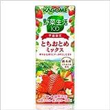 【カゴメ】 野菜生活100 とちおとめミックス 200ml(24本入x2ケース)48本入