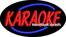 Karate Flashing Neon Sign