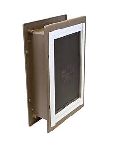 PetSafe Telescoping Aluminum Wall Entry Pet Door, Large