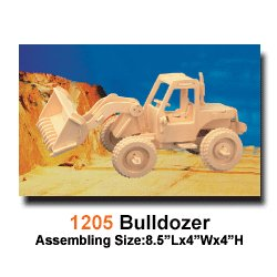 Woodcraft 3D Wooden Puzzle Construction Kit Model-Bulldozer - Buy Woodcraft 3D Wooden Puzzle Construction Kit Model-Bulldozer - Purchase Woodcraft 3D Wooden Puzzle Construction Kit Model-Bulldozer (Puzzled by Creative Ventures, Toys & Games,Categories,Construction Blocks & Models,Building Sets)