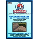 ROOFING DVD ShinglePro: How To Shingle Like a Pro. Builders - Roofers - Do-it-yourselfers. Easy Installation Tips and Time saving techniques. HOW TO ROOF DVD
