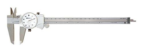 Mitutoyo 505-743 Dial Caliper, 0.1