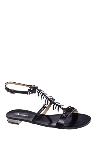 Bonefish Low Heel Ankle Strap Sandal