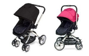 Jj Cole Broadway Stroller With Free Color Swap Canopy- Sassy