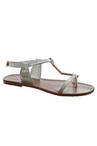 Sandali, nu les p'tites bombes piedi petunia, colore: grigio, Grigio (grigio), 37