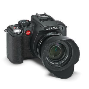 Leica V-Lux2 Super Zoom Digital Camera with 14.1 Megapixels CMOS Sensor, 24x Optical Zoom, 1080i AVCHD Full HD Video Recording (18393)