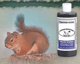 Western Rivers Squirrel Train Scent For Dog Training 4 oz No. 199