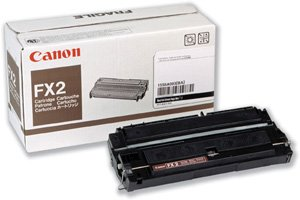 Canon Toner, Fax, Black, 4000 Page Yield FX-2